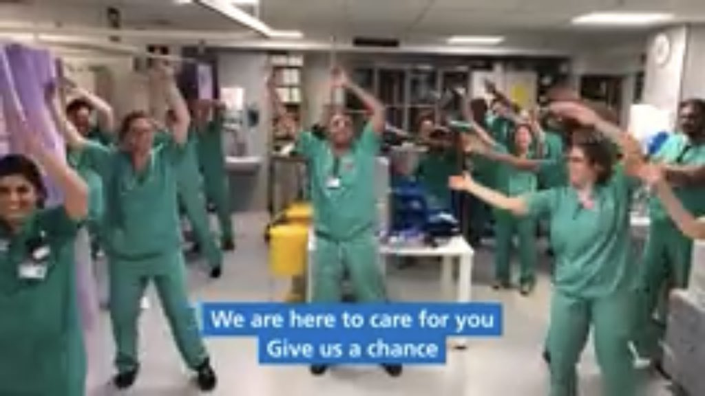 Here's #NHS @OUHospitals Nuffield Department of Anaesthetics' cover of 'Can't stop (the feeling)' - including a plug for endurance Nutritional Ketosis https://youtu.be/5L0w6cgAT5gpic.twitter.com/BmieWDodyd
