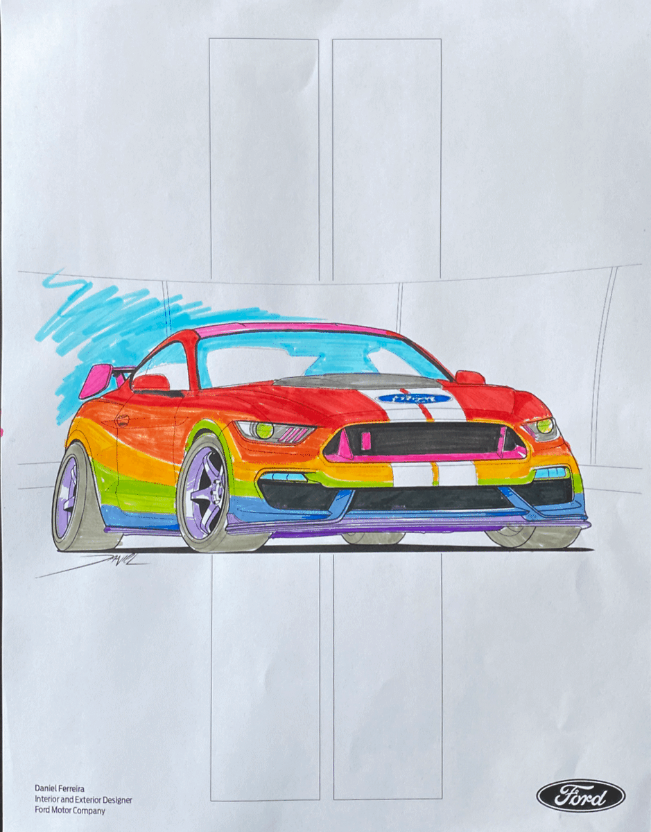 Get those crayons out and get coloring - let's see who can make the wildest @Ford #Mustang! More here: https://t.co/MJ9NgW7xEf
