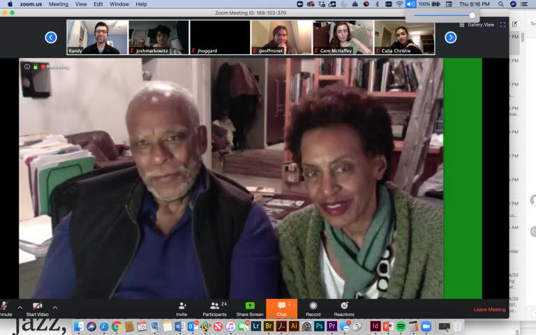test Twitter Media - Wesleyan Documentary Project co-directors Tracy Strain (@thstrain) & Randall MacLowry '86 (@rmaclowry) welcomed @firelightmedia founders @StanleyNelson1 P'22 & Marcia Smith P'22 for a virtual Q&A on their documentary @milesdavisfilm w/ the Wes community: https://t.co/jn1AjjzQqQ https://t.co/UbILZwLhbj