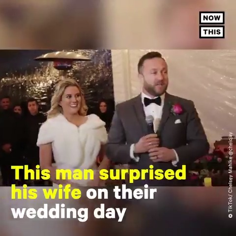 This groom surprised his bride on their wedding day in the most beautiful way 😭