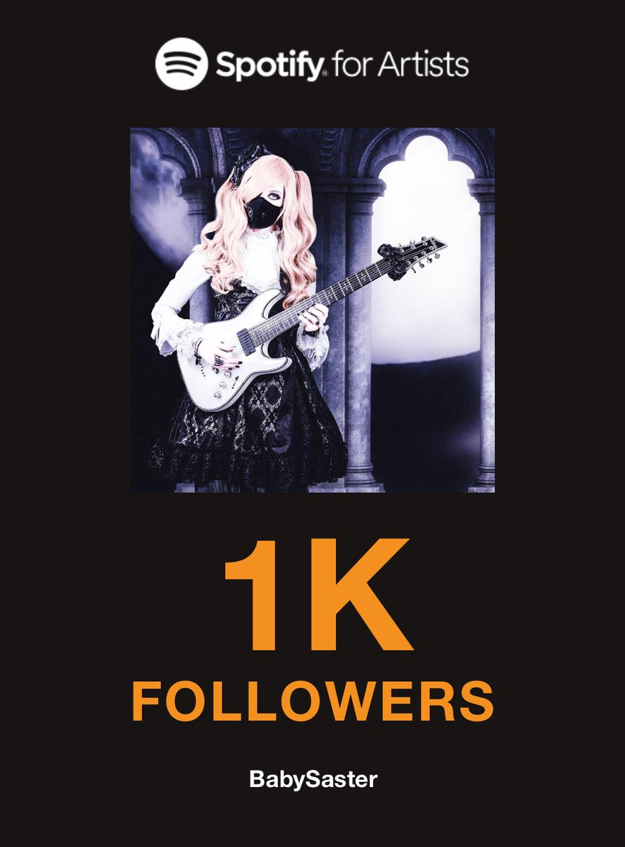 I am very happy to announce that I have reached 1000 followers on Spotify! ♬*゜ To all those who listen - Thank you very much! \(^o^)/☆♪  ☾ 𝔹𝕒𝕓𝕪𝕊𝕒𝕤𝕥𝕖𝕣 † https://t.co/LsHfcjUTbW