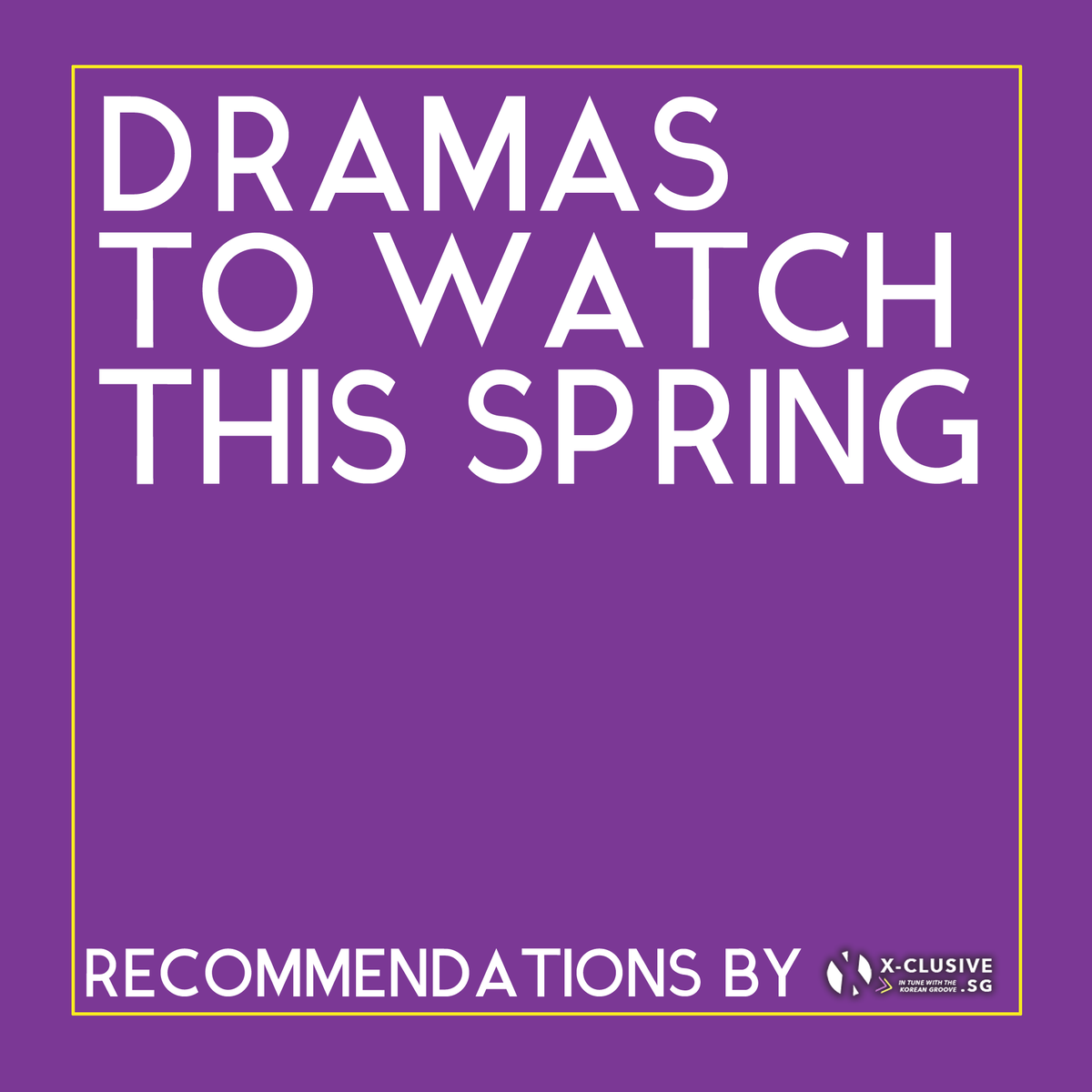 What #kdramas are you watching these days? We share some fluffy shows you might wanna watch this spring. 🌸 All available on Netflix! 😏 instagram.com/p/B-haQcTHLrU/…