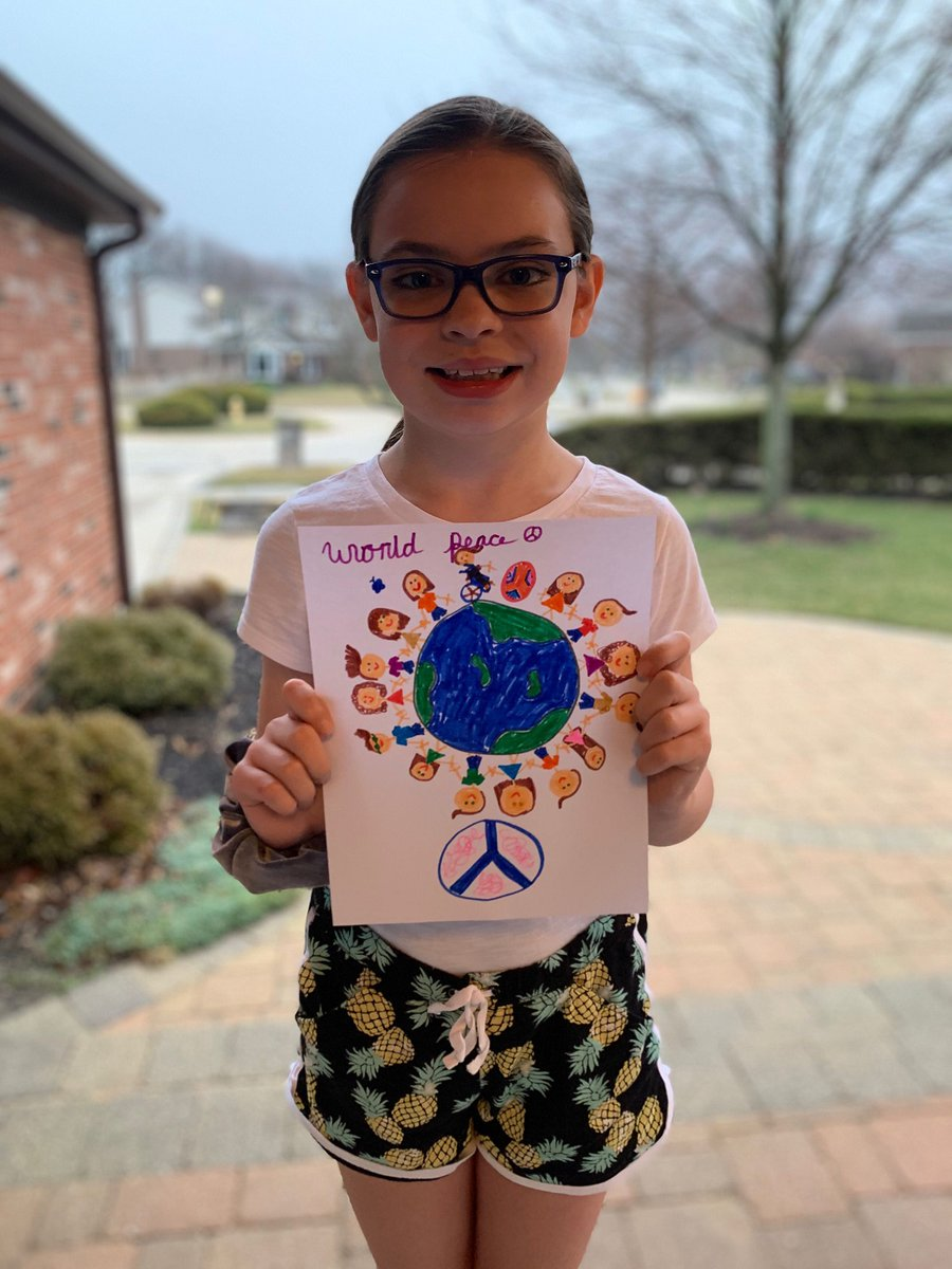 test Twitter Media - Spread peace while social distancing. Include the Lions Peace Poster Project in your children's activities today by asking them to draw, paint, write, or record their vision of peace. Share with the hashtag #PeacePoster! https://t.co/5y9OEk5wDy