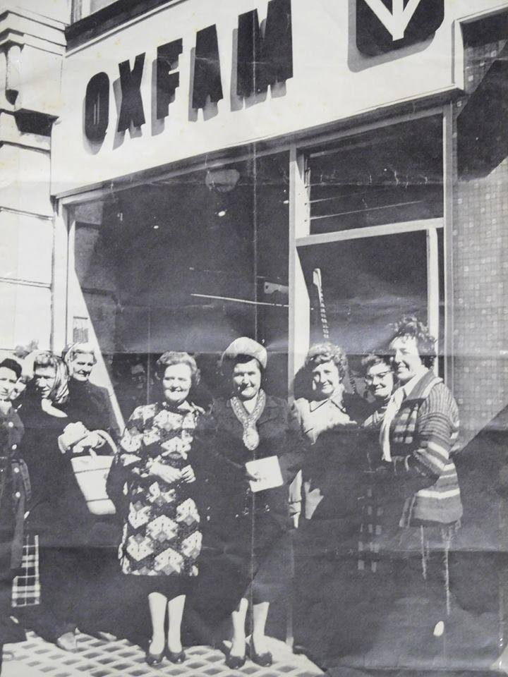 HAPPY BIRTHDAY to us!! It is 45 years today since our shop first opened! #Swansea #Oxfamily