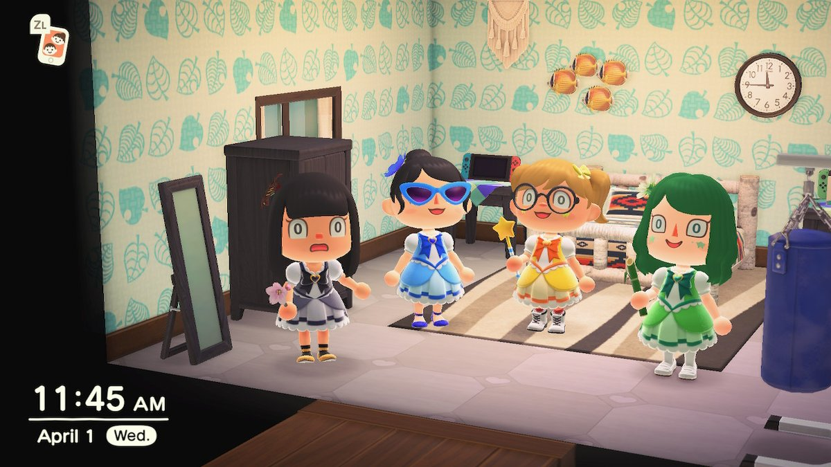 Prince Maid Cafe On Twitter Magical Girls Animalcrossing Acnh Nintendoswitch