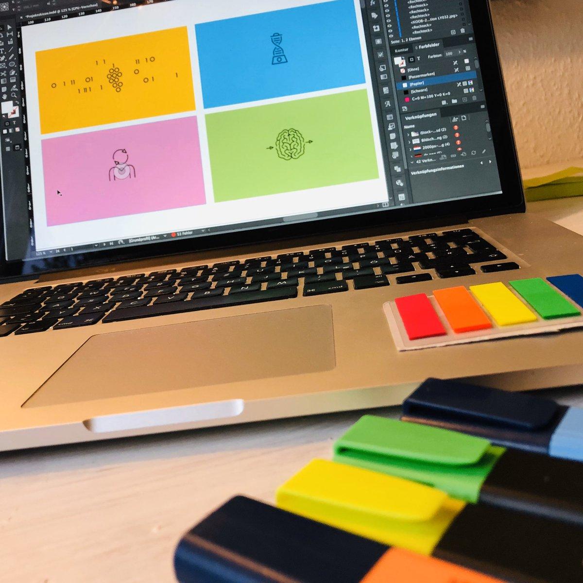 Ja wir sind und bleiben als PR-Agentur primär die Gelben, aber beim Relauch unseres CD ergänzenn wir vier Sekundärfarben. #corporatedesign #relaunch #stateoftheart