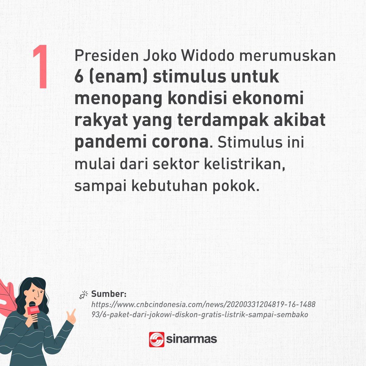 Sinar Mas On Twitter 1 Udah Pada Tau Kalo Ada 6 Stimulus Dari Pemerintah Untuk Tanggapi Covid 19 Semoga Stimulus Ini Memberikan Dampak Yang Baik Untuk Indonesia Ya Selengkapnya Klik Https T Co Xs9qgjq8tj Halbaikhariini Https T Co Ttm310mwdx