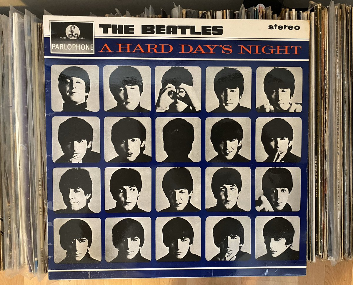 Day 14: you've been working (from home) like a dog, today's LP is The Beatles - A Hard Day's Night (1964). #recordaday pic.twitter.com/5D1e8J7Eq5
