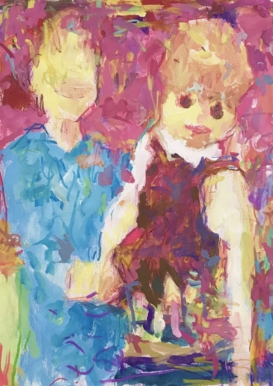 [SPEAKER-d2002] : 26x18.5cm  acrylic,crayon,color pencil  on  paper    2020    #art #painting #drawing #contemporaryart #ventriloquism #アート #絵画 #ドローイング  #現代アート #現代美術 #コンテンポラリーアート #腹話術pic.twitter.com/lRvAG8MqNe