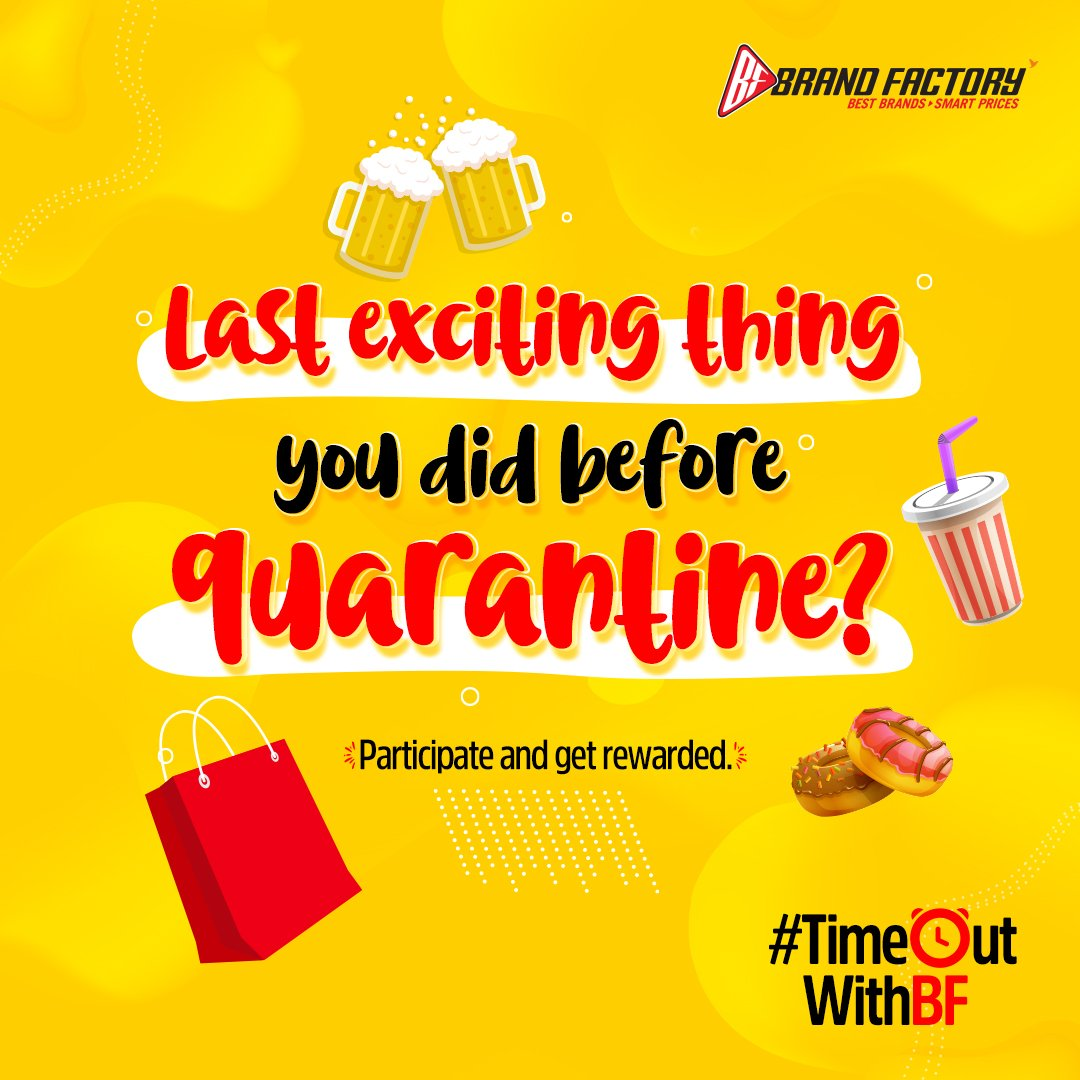 Let us have some throwback moments. Share your moments in the comments. Tag 10 of your friends and lucky winners will get exciting prizes.   #TimeOutWithBF #ContestAlert #Contest #Quarantine #StayHomeStaySafe #QuarantineAndChill