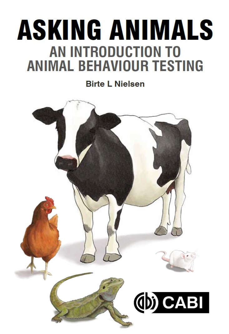 """I'm thrilled to announce that my book is now PUBLISHED!          """"Asking Animals""""   Could be excellent reading for confined humans?😃  Available from https://t.co/uqB3cKfwjO and save 20% with the code CCAB20  #CABI_News #CABI_Books @CABI_Knowledge @AppliedEthology https://t.co/uU0B83vUL2"""