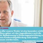 Image for the Tweet beginning: Gefährdete Kinder vor Gewalt, Vernachlässigungen