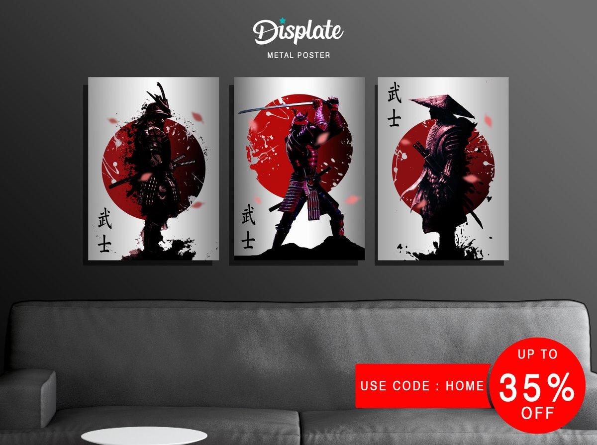 Buy 1-2 Posters get 27% OFF | 3+ get 35% OFF | Use code: HOME | Ends: Sunday  buy here https://displate.com/ridwanart/samurai-illustration…  #anime #game #poster #design #merchandise #art #Japanese #SAMURAISHODOWN #samurai #ronin #wallart #decoration #love #YouTuber #youtubechannel #StayAtHome