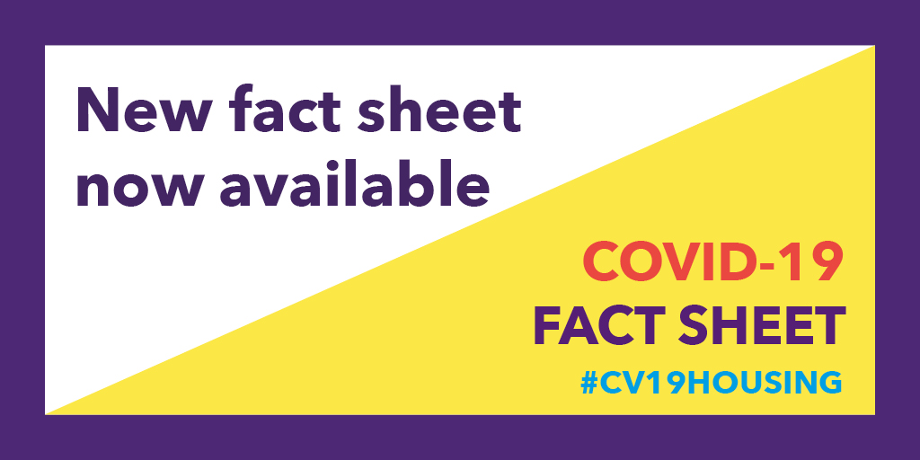 Our fourth fact sheet is here and its full of information to help you support your vulnerable tenants. #CIHCV19 #CV19housing Give it a read here >>> ow.ly/zXnN50z4fz2