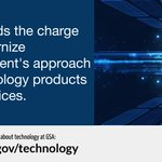GSA's innovative technology programs and initiatives are building a more secure and agile 21st century government. Learn more: https://t.co/ZRnYQsbyW8