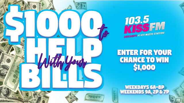 Say it with me. One Thousand Dollars. Tune in at the top of the hour, EVERY HOUR! ow.ly/xO5D30qtgwY