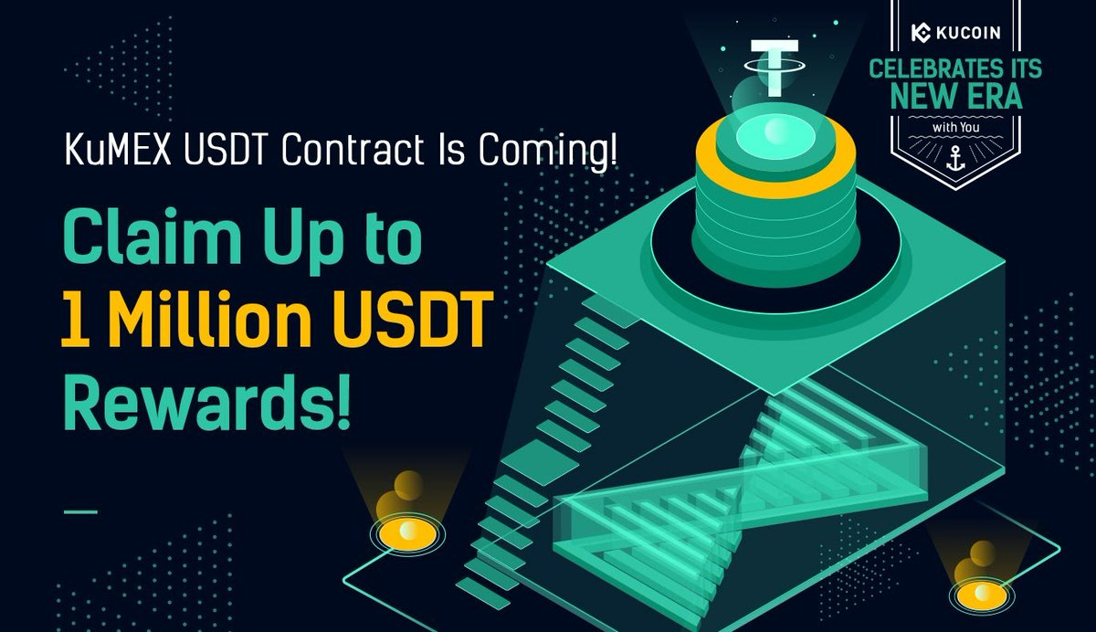 To celebrate the launch of the USDT Perpetual Contract, #KuMEX is holding giveaway activities to reward users!  1. Share Up to 400,000 USDT Rewards in KuMEX USDT Contract! 2. In or Out? Earn Millions of USDT Rewards on KuMEX Now!  Details: