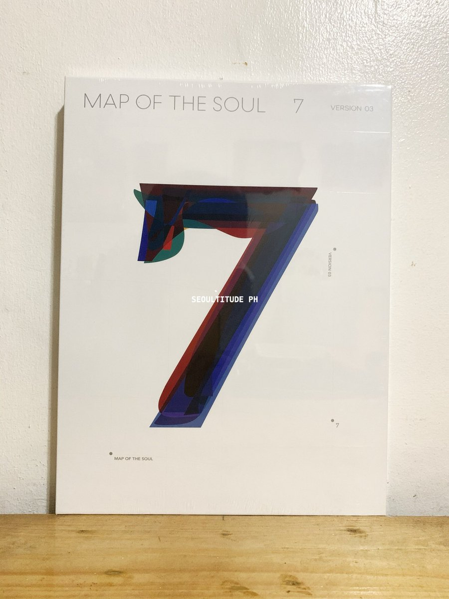 [ WTS / LFB ] ON-HAND  BTS MAP OF THE SOUL: 7 ALBUM VERSION 3   Sealed  complete inclusions with first press poster & Weply POB (Aurora frame).   1,300php + local sf + poster tube (optional)  dm if interested ♡  shopee link: https://shopee.ph/product/133124897/7924023522?smtt=0.0.9…pic.twitter.com/tuaNE74WZ6