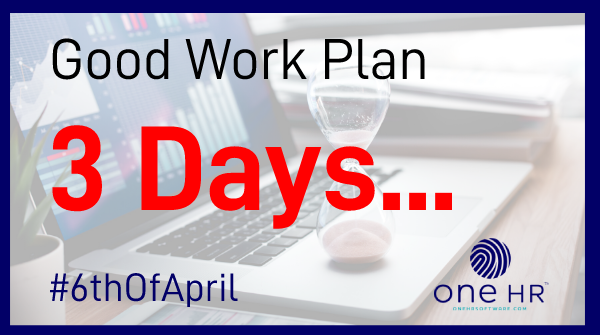 How prepared are you for the #GoodWorkPlan changes?  Your business only has 3 days left to get #compliant before the #6thOfApril.   To get your #contracts in place email us at;   - Contact@oneHRSoftware.compic.twitter.com/QqzgjZqiCI