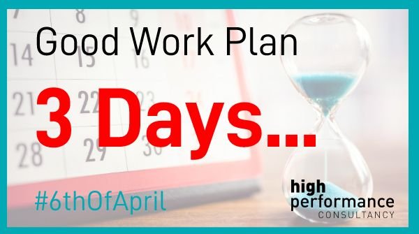 Is your #business prepared for the #GoodWorkPlan changes?  You now have 3 days left to get your contracts in place.  To get #compliant before the #6thOfApril please emails us at;    - Contact@HighPerformanceConsultancy.compic.twitter.com/xbjYmILVNO
