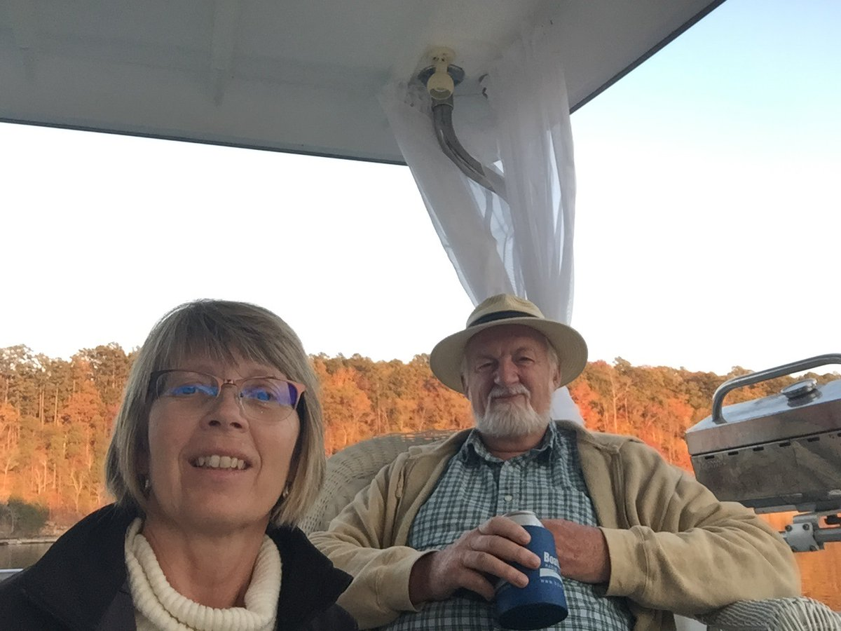 """Congratulations to Carl & Linda, who completed their Loop on March 13, 2020 aboard their 37' President, """"Carinda""""."""