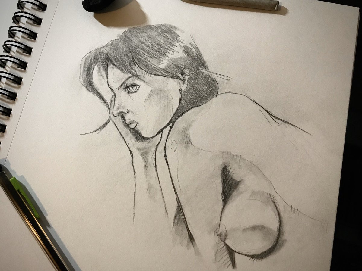 Inspired after watching the beautiful troublemaker. Aka La belle noiseuse. #labellenoiseuse #thebeautifultroublemaker #emmanuellebéart #muse #art #sketch #lifedrawing #drawing #nudesketchs #lifesketch #nudemodelsketch #artmovie #beautifulgirls #inspiration #artinspiration pic.twitter.com/FuBnB5HHcD