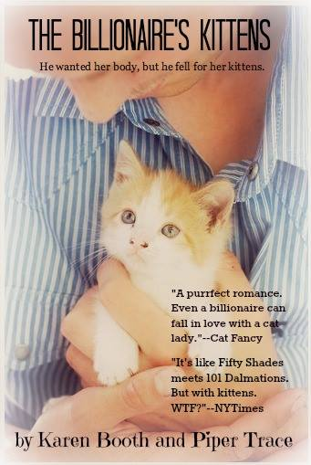The Billionaire's Kittens by Karen Booth & Piper Trace cover