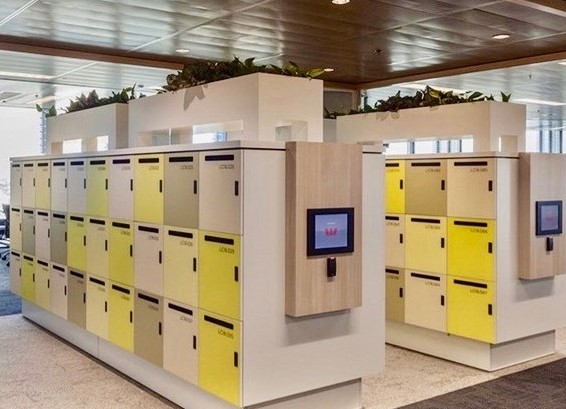 Our goal is to provide you with the most efficient and cost effective smart locker storage system that works for you and your budget.  #CFNYgroup #officesolutions #officespace #officefurniture #corporatedesign #officedesign #officeorganization