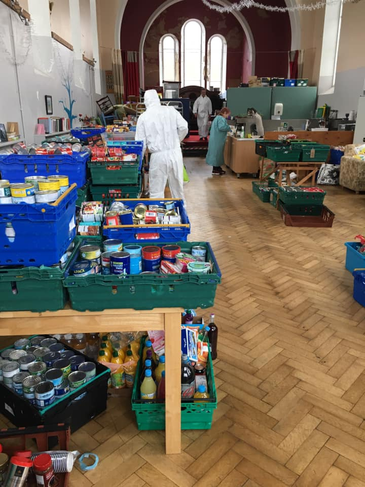 If you are out doing your shopping over the weekend and can donate to the Larder Food bank, I would be more than happy to come collect. We can arrange a time, you leave items out on your doorstep and Ill collect. PM me here, text, call or whatsapp on: 07823 668432 #StayAtHome