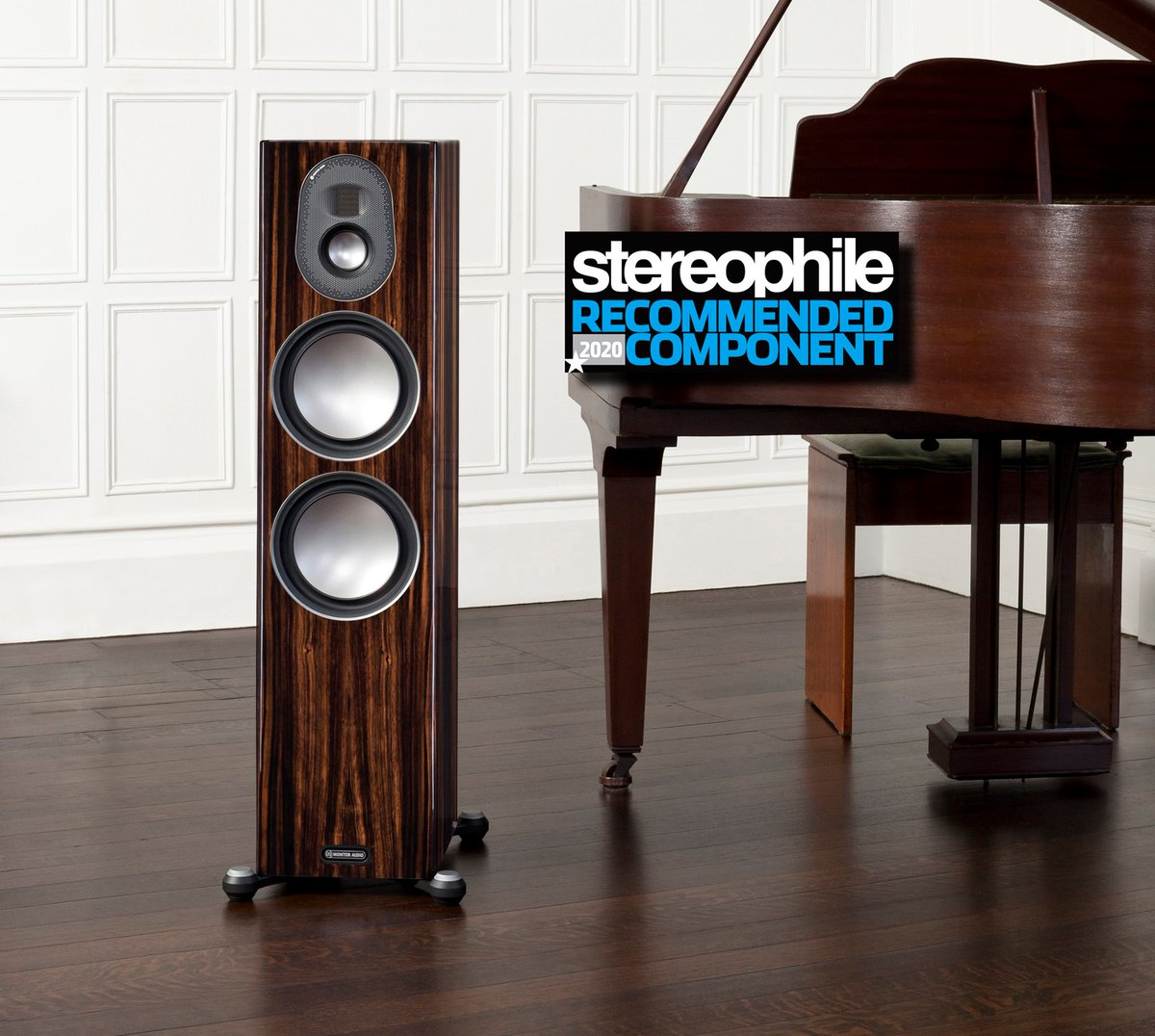 Proud to announce that Our PL300 II, Gold 300 and Silver 300 speakers have been named in @stereophile Magazine's 2020 Recommended Components list.  http://monitoraudio.com/en/blog/stereophile-magazines-2020-recommended-components …pic.twitter.com/pfMN6k4AoU