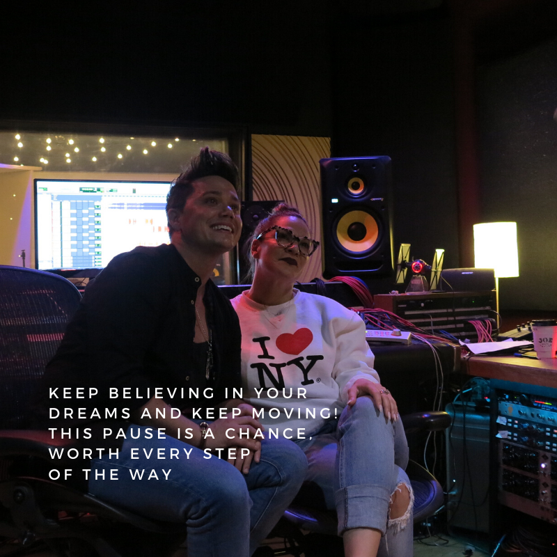 Friday vibes... Let's keep creating, that's what we came here for! https://soo.nr/chfo  . . . . .  #fridayvibes #chances #takeachance #weekend #presspause #behindthescenes #bts #recordingstudio #recordingsession #studiomoment #picoftheday #shobeanpic.twitter.com/wfo6fBwZwn