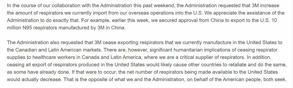 Whoa, from 3M's statement last night businesswire.com/news/home/2020…