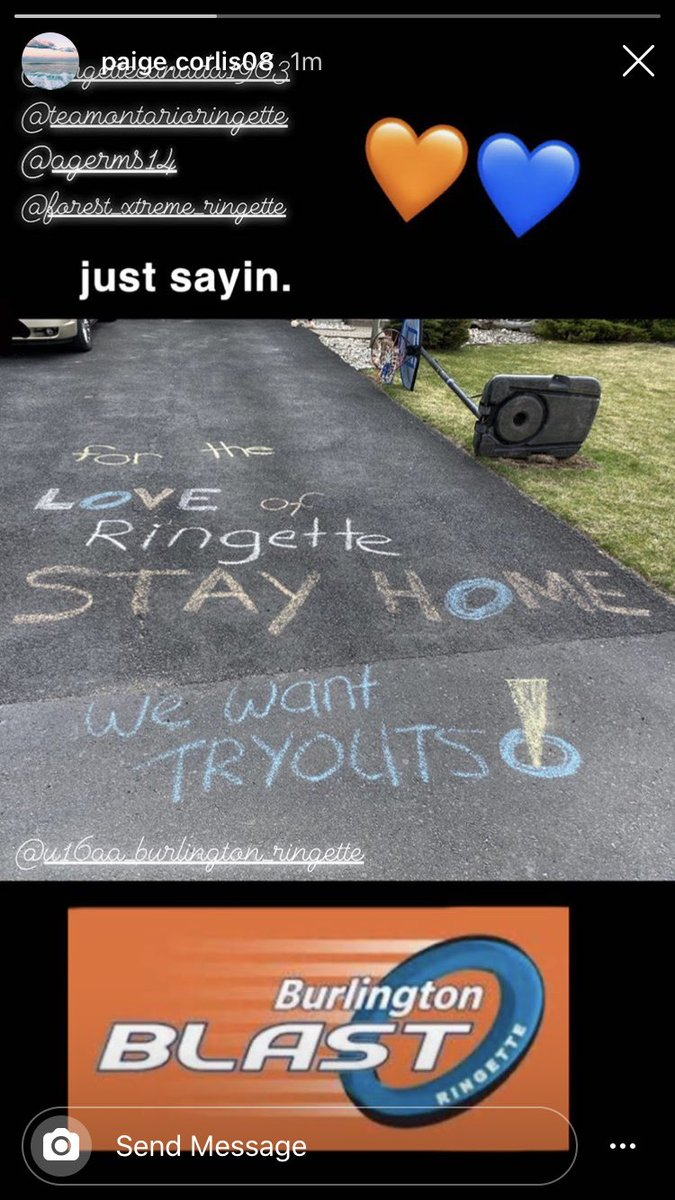 #StayHomeSaveLives @ringettecanada @RingetteOntario @hockeynight @MLB  @OHLHockey @CHCHTV @BulldogsOHL  @CBCHamilton These ringette players want to start the season pic.twitter.com/eOnb3k3DCk