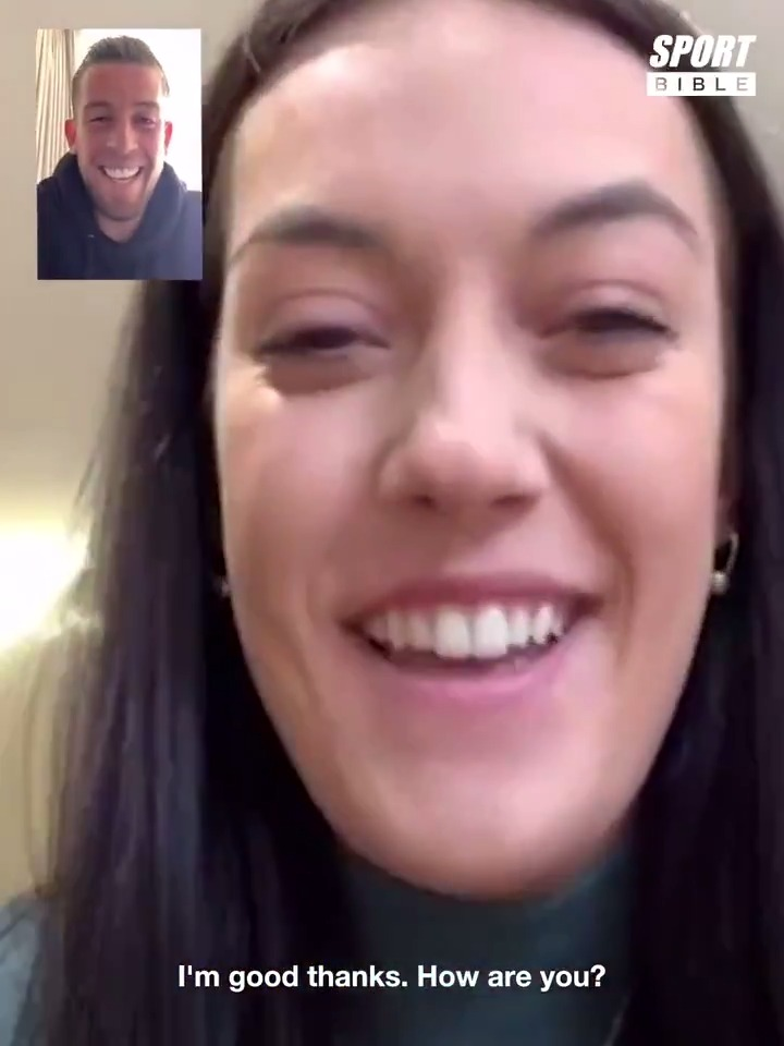 💙 Tottenham Hotspur centre-back Toby Alderweireld surprised NHS worker Tayla Porter over FaceTime to thank and appreciate the amazing work she is doing for our community. 🤝 Respect. #THFC #COYS