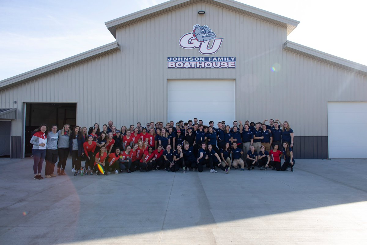 #FlashbackFriday to the dedication of the Johnson Family Boathouse, our brand-new facility on Silver Lake! Great dedication & awesome event for our current members & former alumni!  #UnitedWeZag https://t.co/MWzPLJExhm