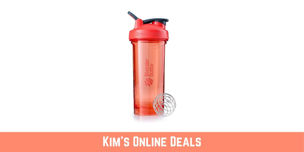 BlenderBottle Pro Series Shaker Bottle, 28-Ounce, Coral  $6.71 (was $12.99)  #ad see this deal here: https://amzn.to/2yx9UUQpic.twitter.com/DQKmjpGNi4