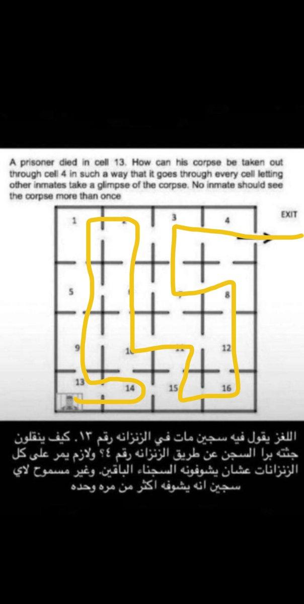 حل لغز السجين رقم ١٣