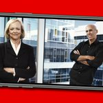 Image for the Tweet beginning: Business legends, Meg Whitman and