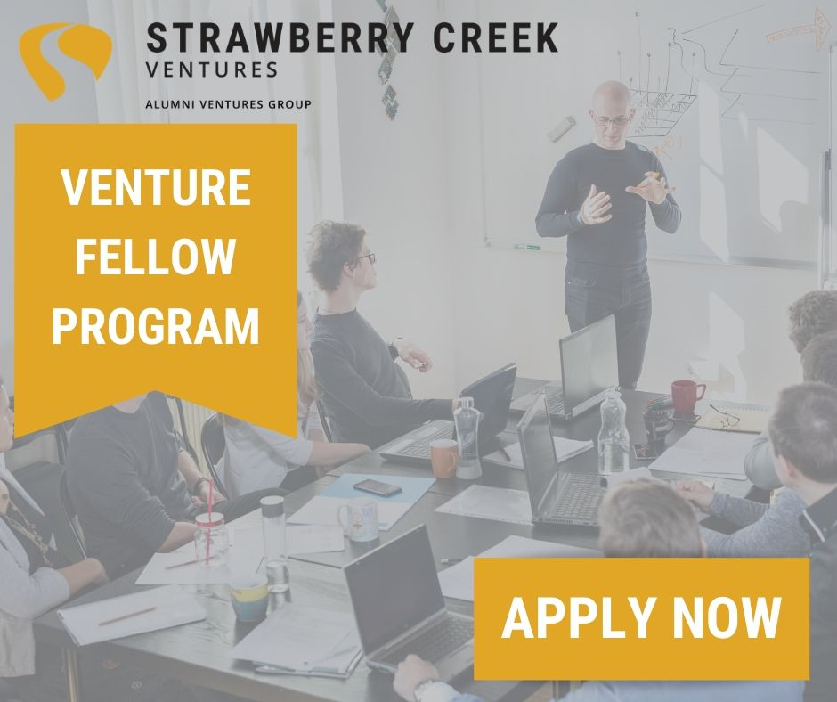 UC Berkeley alums, we are looking for YOU! Apply now for our Venture Fellow Program: a unique, hands-on learning experience, and the jumpstart you need towards a career in venture capital. The deadline to apply is next Wednesday, April 8th, so don't wait: https://t.co/AA9ujy830g https://t.co/ef7GUidRAp
