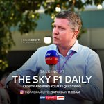 It's the return of The Sky F1 Daily! 🎙️  @CroftyF1 will be hosting a live Q&A on our instagram tomorrow morning at 11:00AM BST ⏰  Have a question for Crofty?  Leave a reply! 👇  #SkyF1 | #F1