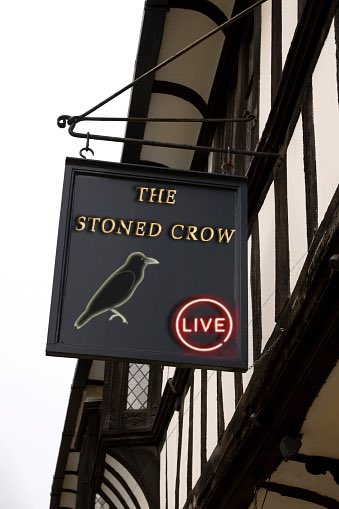 Thank you Ethan for this amazing The Stoned Crow pub sign, see you all at 7pm UK for the LIVE show http://www.youtube.com/realaleguide  #TheStonedCrow #StoneTheCrows #CraftBeer #RealAle #Ale #Beer #BeerPorn #RealAleCraftBeer #RealAleGuide #Retweet #RT #Youtube #YoutubeLive #VirtualPub #Pubpic.twitter.com/8seeuLlQ6u