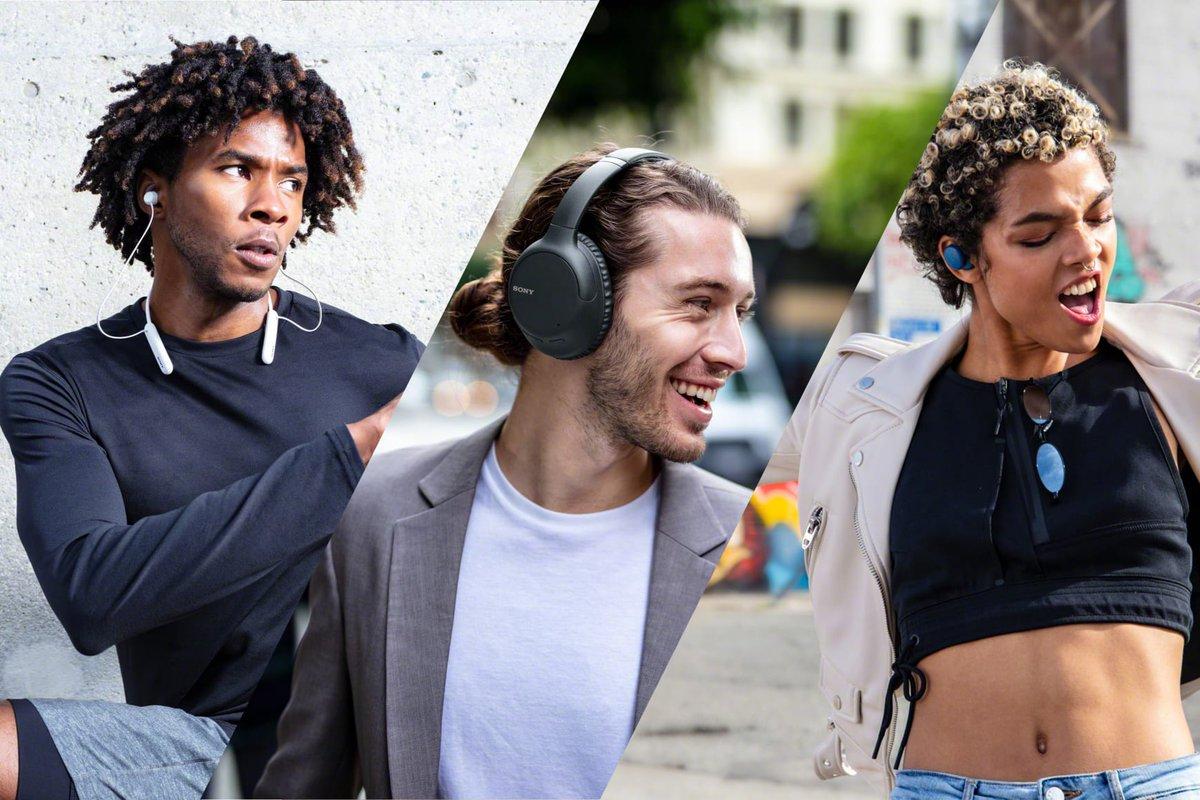 Sony's headphones zijn altijd en overal inzetbaar. Dit voorjaar introduceert Sony een drietal prijsbewuste headphones voor ieder type consument, met handige handsfree-functies, spraakondersteuning, Quick charging en een strak design. Voor meer info, zie: https://t.co/cAfPySRco9 https://t.co/tsPjLsKg0U