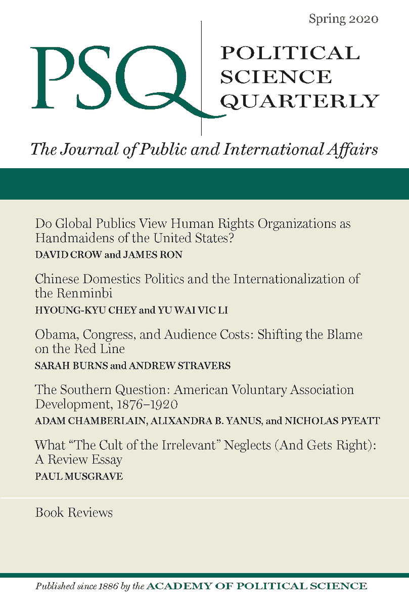 Spring 2020 Issue Now Available | psqonline.org
