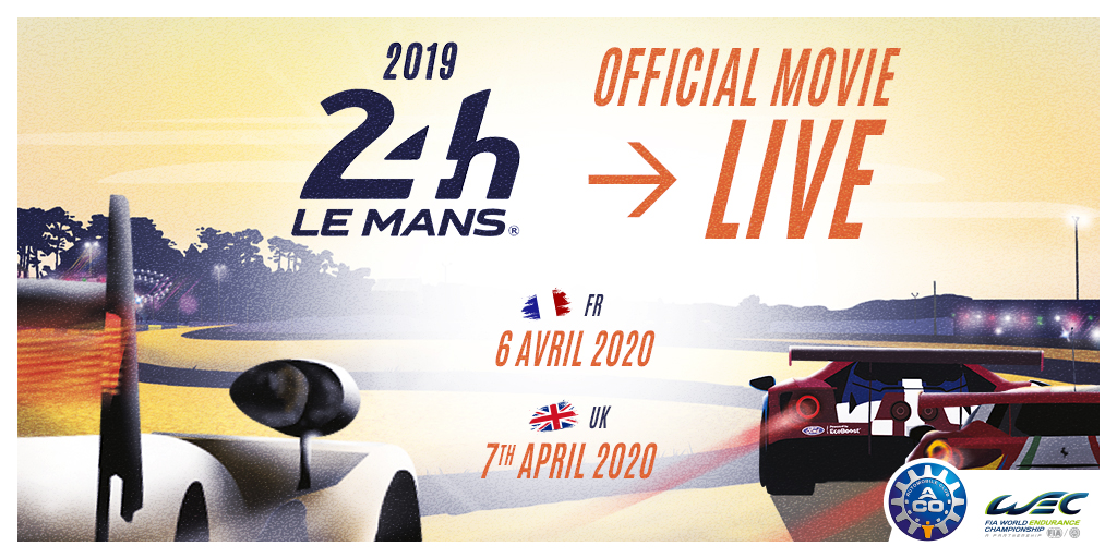 JOIN US on our Facebook page on Tuesday evening at 20:00 (local time) to watch the official film of the 2019 24 Hours of Le Mans!   #LeMans24 #WEC #Motorsport #Racing #France #Sport #Cars #Endurance #FIA #Movie #Video #filmpic.twitter.com/hzkk11FFKS