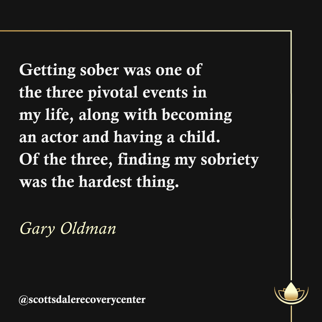 #GaryOldman says that becoming sober was one of the 3 pivotal moments in his life. The Academy Award-winning actor has been a firm advocate for sobriety after a fierce battle with alcohol addiction. Keep it up, Gary. We're happy to see you living a better life! #TeamSRCpic.twitter.com/0cYIdnZMc6