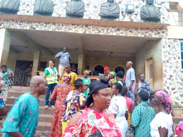 Payment exercise at Ebenebe Ward, Awka North Llocal Government Area, Anambra State
