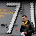 Image for the Tweet beginning: Dismissed U.S. carrier captain gets