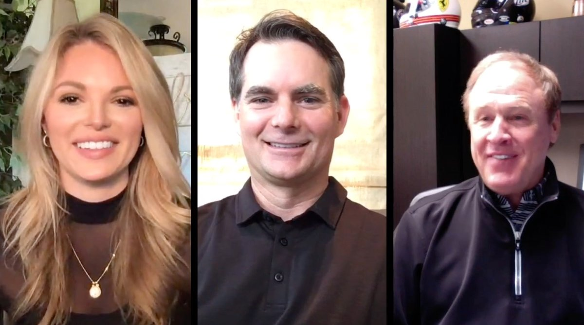 PREMIERING TONIGHT @ 7 PM I had the honor to join HOFers @JeffGordonWeb & @RustyWallace for a look back on their heated @BMSupdates endings and their relationship today. You DONT want to miss it - watch tonight on @NASCARs YouTube and social channels! nas.cr/3bMeP2u