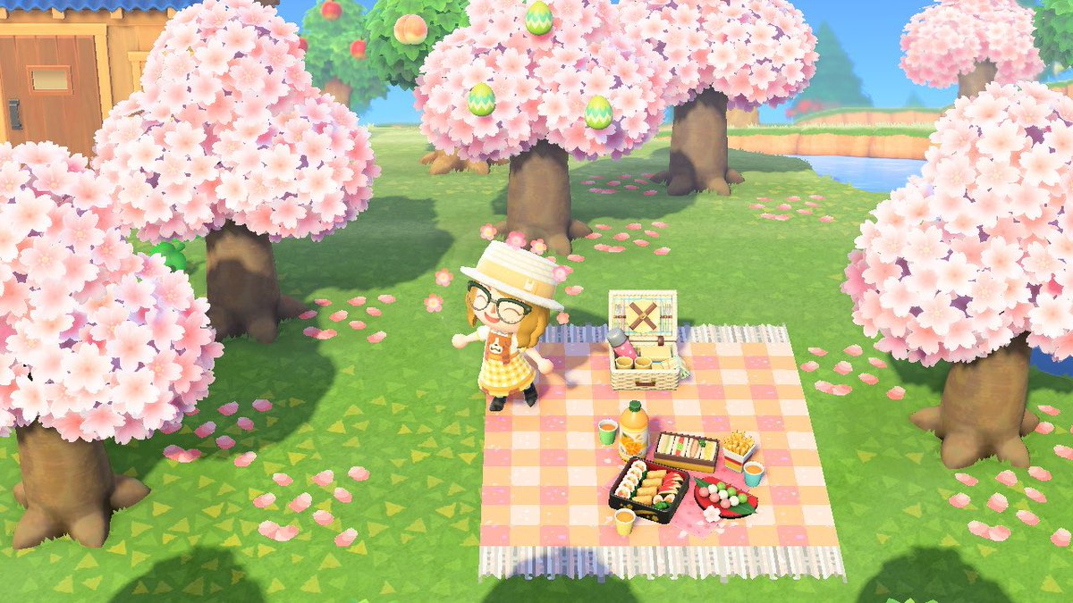 Twitter पर Gabby Darienzo Made This Sakura Petal Pattern For Anyone Who D Like To Use It Creator Id Ma 1319 8036 8942 Pattern Id Ma Hl62 Lyjt 5dst Acnh Acnhdesign Animalcrossing Dress By Ac Viiolaceus Picnic Blanket By