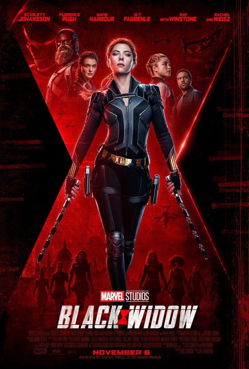 Marvel Studios #BlackWidow arrives in theaters November 6.
